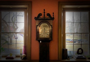 1824 Antique Irish Grandfather Clock