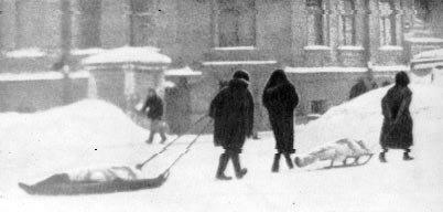 блокадный Ленинград