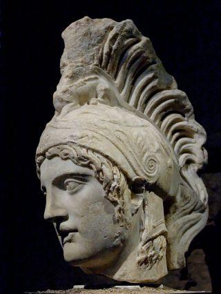 Ares (kopie werk van Alkamenes, uit de school van Phidias, 4e eeuw v.Chr., Musei Capitolini)
