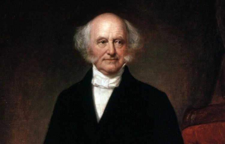 Presidentieel staatsieportret van Martin Van Buren.