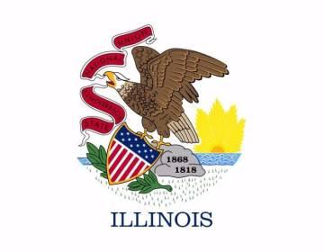 Vlag van Illinois