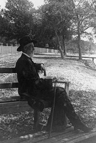 Jefferson Davis in ca. 1885