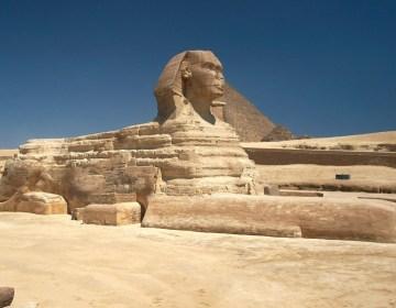 De Grote Sfinx van Gizeh - cc