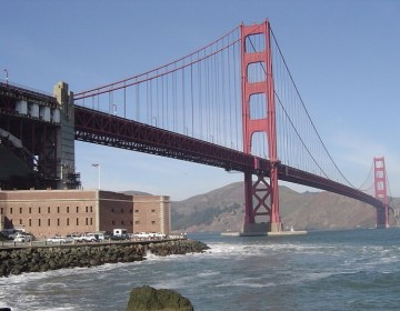 Golden Gate Bridge in Californië - cc