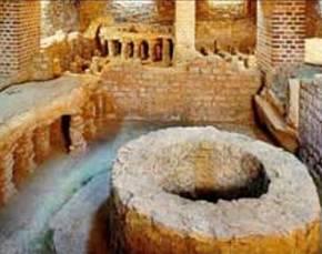 Romeinse thermen uit 2e eeuw in Duits museum over badcultuur