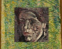 Het vrouwenportret waar Van Gogh overheen schilderde (foto: TU Delft)