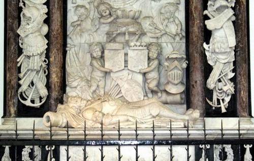 Praalgraf van Maarten Tromp in Delft (Bron afbeelding: Picasa Web)