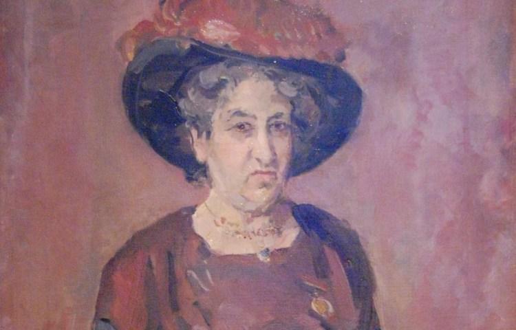 Portret van Aletta Jacobs door Isaac Israëls, 1920