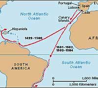 Vermeende reizen van Amerigo Vespucci