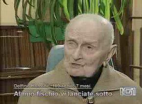 Delfino Borroni op 107-jarige leeftijd
