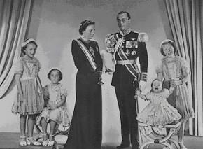 Het koninklijk gezin
