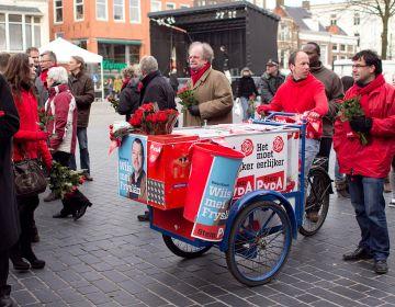 PvdA-campagne in Leeuwarden, 2011 - cc