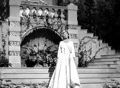 Lale Andersen tijdens het Eurovisie Songfestival van 1961