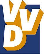 Oud logo van de VVD