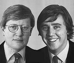 Hans Wiegel en Ed Nijpels