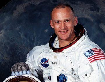 Buzz Aldrin in 1969