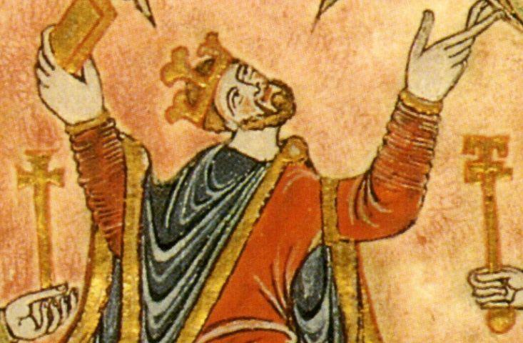 Edgar van Engeland (ca. 943-975) - Engelse koning