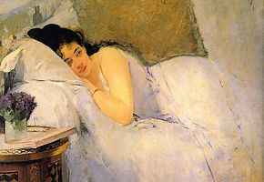 Schilderij van Eva Gonzalès (1876)
