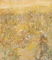 Jan Toorop, 'Voorjaarspracht', 1904 (Particuliere collectie)