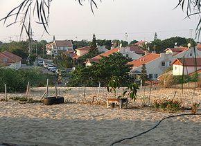 Enkele huizen in Gush Katif