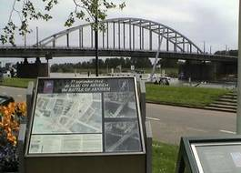 Nationaal Historisch Museum komt bij historische brug in Arnhem