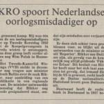 Krantenbericht (1993, Nederlands Dagblad) over Herbertus Bikker - Delpher