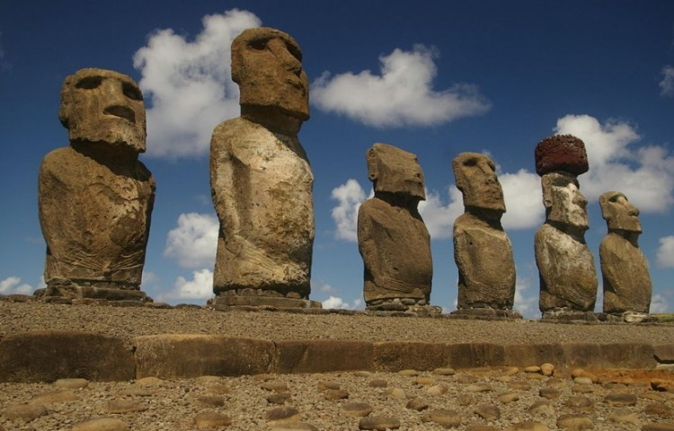 Moai op Paaseiland - cc
