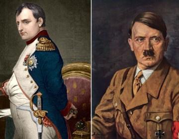 Napoleon Bonaparte en Adolf Hitler