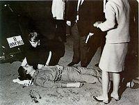 Benno Ohnesorg werd doodgeschoten op 2 juni 1967 (Foto: Deutsches Historisches Museum, Berlin)