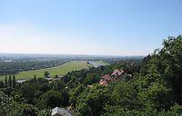 Elbedal bij Dresden