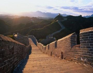 Blik over de Chinese Muur - cc