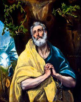 Petrus volgens El Greco