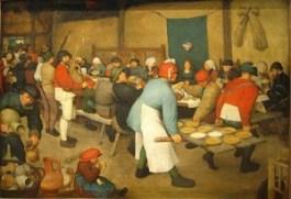 De Boerenbruiloft – Pieter Bruegel de Oude, 1567/1568