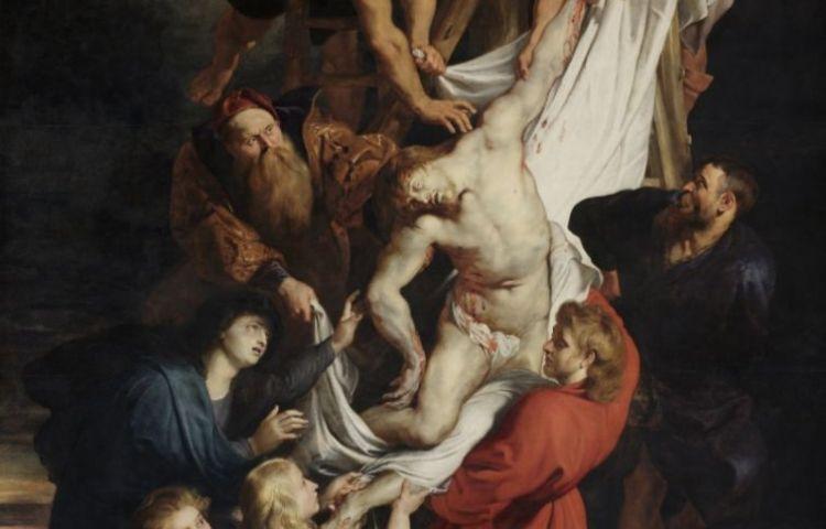 De Antwerpse 'Kruisafneming' van Rubens