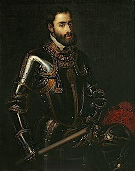 Karel V volgens Titiaan, 1535