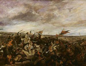 Filips de Stoute maakte naam tijdens de Slag bij Poitiers van 1356 - Delacroix, 1830
