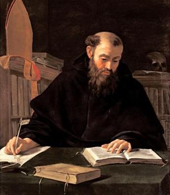 Augustinus volgens Caravaggio