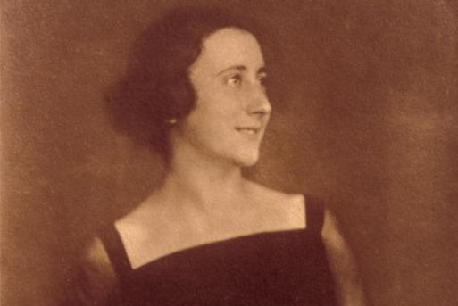 Edith Frank-Holländer, de moeder van Anne Frank