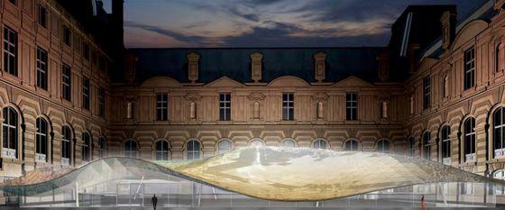 Vleugel met islamkunst van het Louvre