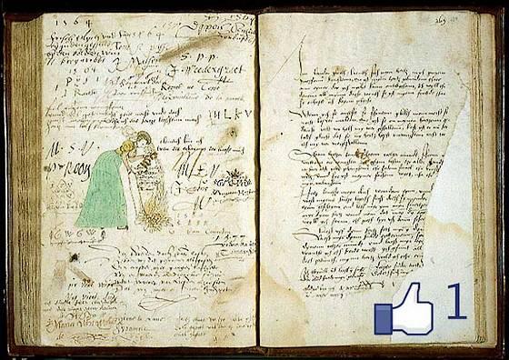 Album van Margaretha Haghen, inscripties dateren uit 1564 (bewerkt)