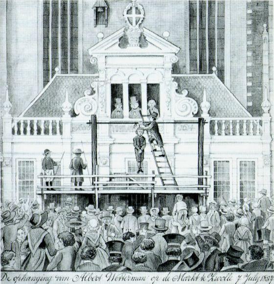 7 juli 1837 – De ophanging van Albert Wetterman