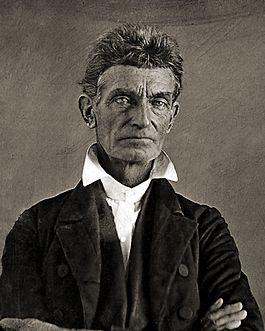 John brown in ca. 1856