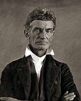 John brown in ca. 1856