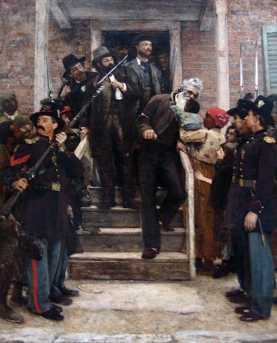 De laatste momenten van John Brown - Thomas Hovenden, ca. 1882 (Metropolitan Museum of Art)