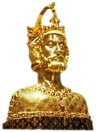 Buste van Karel de Grote