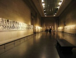 Elgin Marbles in het British Museum