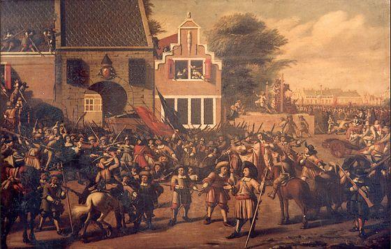 Schilderij moord gebroeders De Witt nog gruwelijker