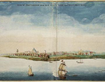 Nieuw Amsterdam volgens Vingboons