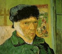 Zelfportret Vincent van Gogh