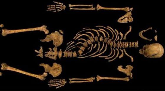 Skelet van Richard III